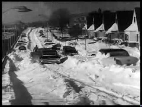 Blizzard hits NYC and Washington DC 1967