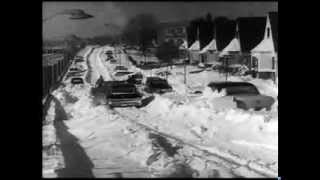 Blizzard hits NYC and Washington DC 1967