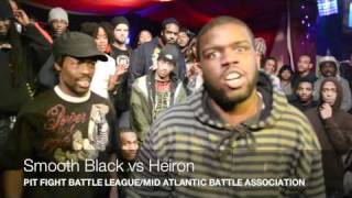 BLOOD ON THE SHOES: Smooth Black Vs Heiron:Pit Fight Battlle League