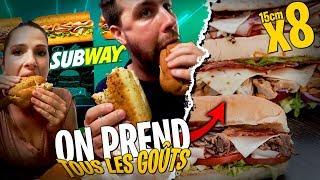 Le meilleur Subway ? On en goûte un maximum avec Pidi !
