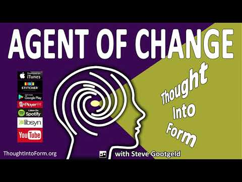 "Agent of Change: Thought Into Form ""Living in Abstraction"""