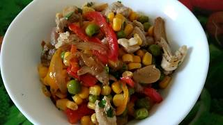 Самый простой и вкусный салат   The easiest and most delicious salad   SIRUSH KITCHEN
