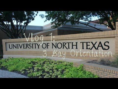 Vlog 1: 3 Day College Orientation
