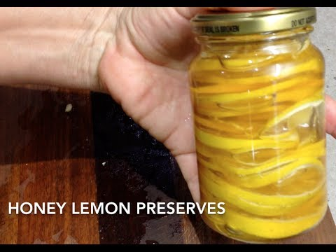 Honey Lemon Preserve 2 ingredient cheekyricho tutorial