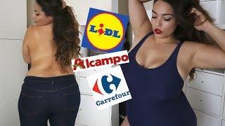 MI ROPA FAVORITA DE SUPERMERCADO 🍑 HAUL Carrefour, Lidl, Alcampo... | Pretty and Olé