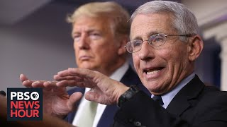 Dr. anthony fauci heads the national institute of allergy and infectious disease is one top public health officials in u.s. he's helping to le...