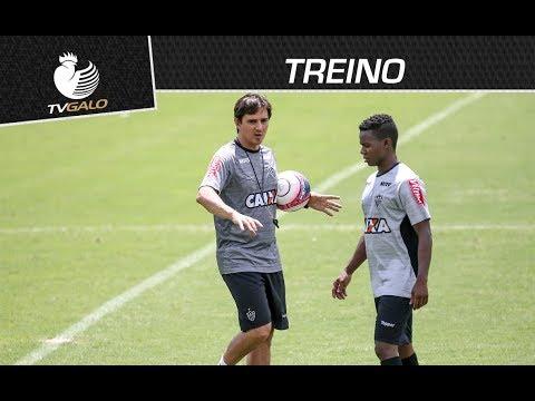Após saída de Oswaldo de Oliveira, Thiago Larghi comanda o time contra a Caldense (09/02/2018)