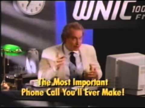 1990 WNIC 1003 FM Detroit Radio commercial