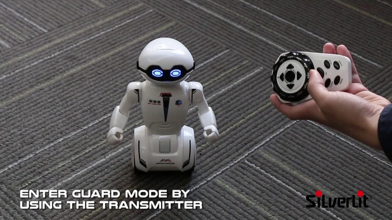 Silverlit Macrobot Demo Youtube