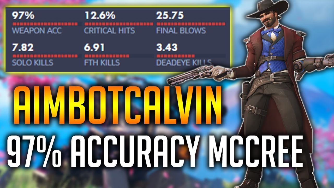 97% ACCURACY MCCREE ''AIMBOT'' CALVIN SETTING LIJIANG ON FIRE