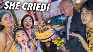SURPRISING Our Cousin With 18TH Quarantine DEBUT! (She Cried!) | Ranz and Niana