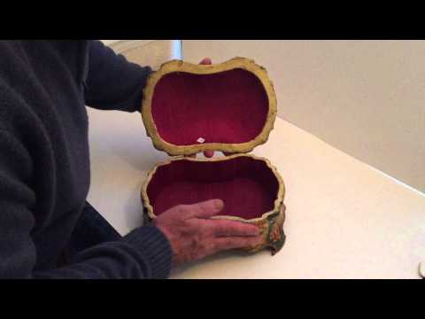 Antique Italian Jewellery Box