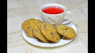 Рецепт печенья с шоколадной крошкой