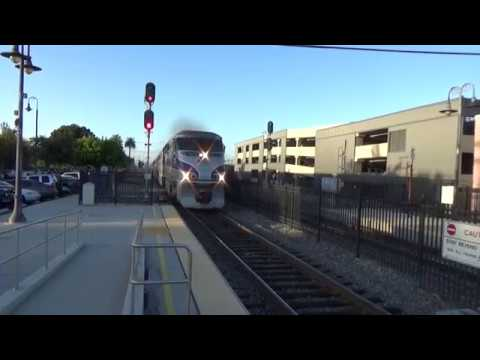 Early Evening At The Orange Metrolink Station S.B. PACIFIC SURFLINER