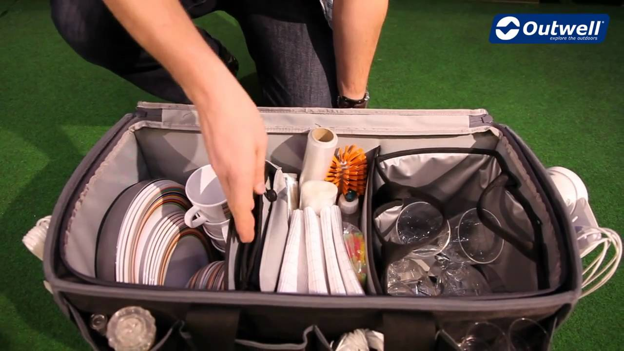 Outwell Kitchen Store Travel Bag Youtube
