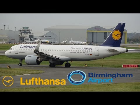*A320Neo* Lufthansa Flight 954/955 (Frankfurt To BHX/BHX To Frankfurt)
