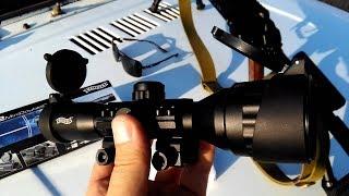 Оптический прицел  Walther 6x32 .Полевой обзор.
