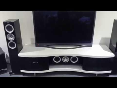 Belaya Tumba Pod Tv Bdi Ola 8137 Satin White Youtube