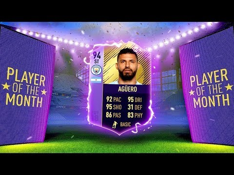 AGUERO 94 PLAYER OF THE MONTH SBC + PREMI FUORICLASSE WEEKEND LEAGUE! FIFA 18 [ITA]