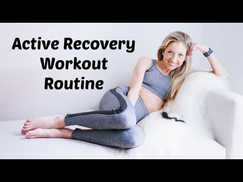 Active Recovery Workout Routine. Do this on Rest Days To Come Back Stronger In the Gym.