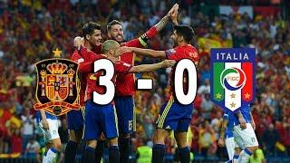 Download Video Spanyol vs Italia 3-0 Highlights & Goals Hasil Kualifikasi Piala Dunia 2018 3 September 2017 MP3 3GP MP4