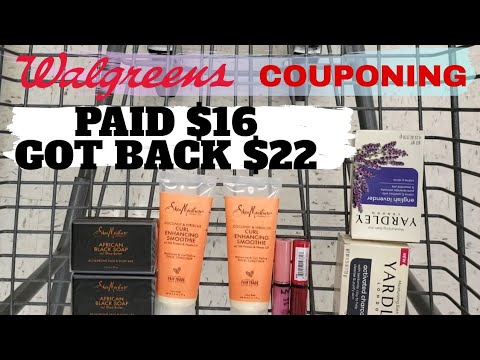 Walgreens Couponing All Digital Coupons Deal Beauty Event Haul One Cute Couponer Youtube
