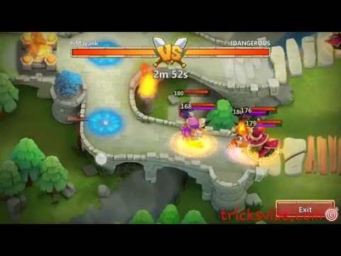 Castle Clash Arena Strategy Using New Hero PK(Phantom King)