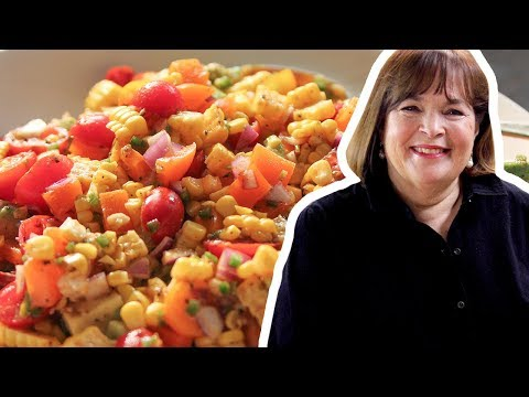 Barefoot Contessa Makes Fiesta Corn & Avocado Salad | Food Network