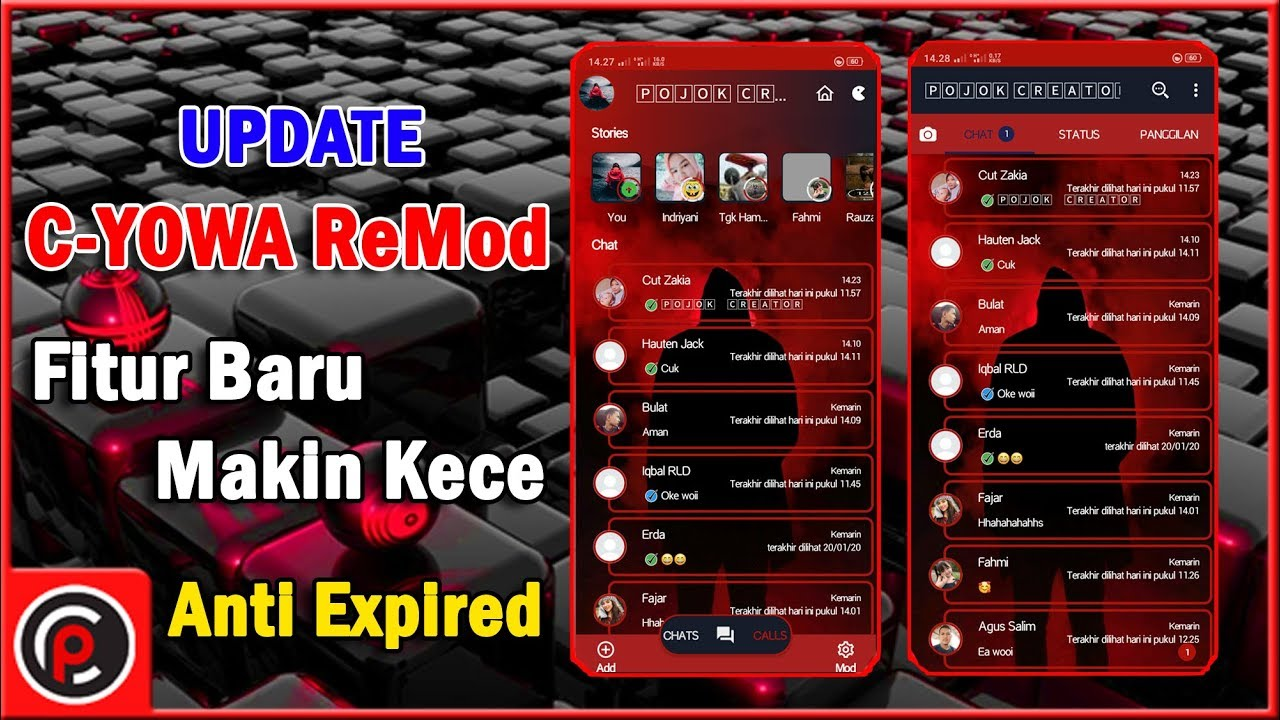 WhatsApp Masa Depan    C-YOWA ReMod Update Fitur Baru 2020 ...