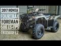 2017 Honda Foreman 500 ES + EPS 4x4 ATV (TRX500FE2H) Walk-Around Video | Camo | HondaProKevin.com
