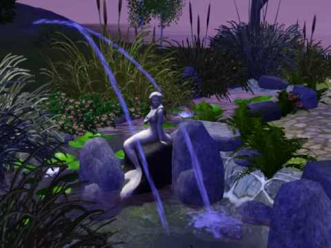 The Sims 3 - Fog emitter and water jets