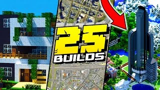 25 Things YOU NEED To Build In Minecraft