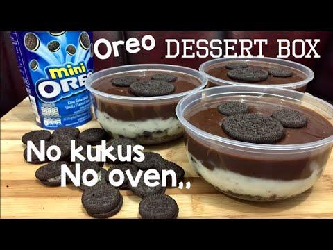 Oreo Dessert Box Kekinian TANPA OVEN