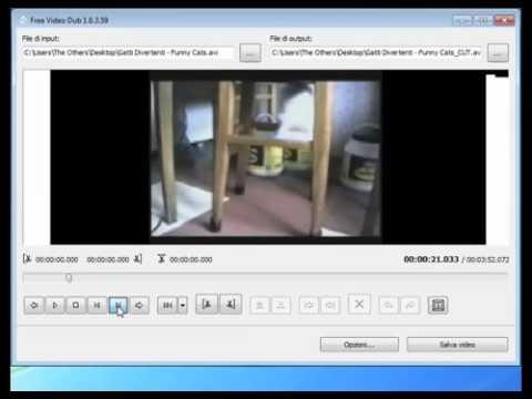Come tagliare video AVI MP4 FLV MPEG e altri