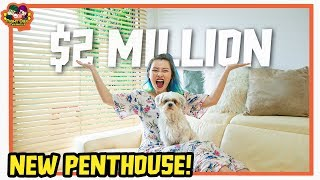 Our New House Tour! | $2 Million Apartment 🏠