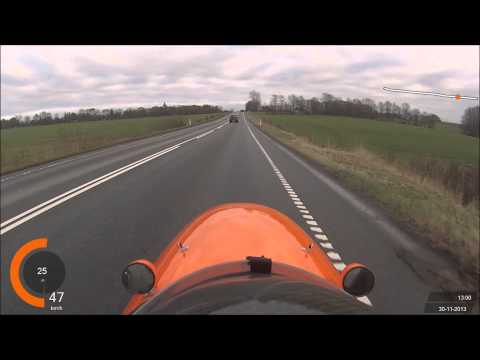 Exceed limits ...Drive Velomobile