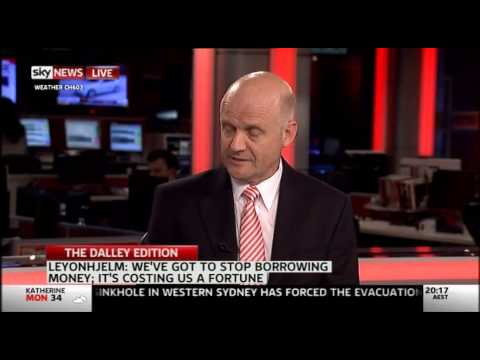 Senator Leyonhjelm interviewed by Helen Dalley on Sky News