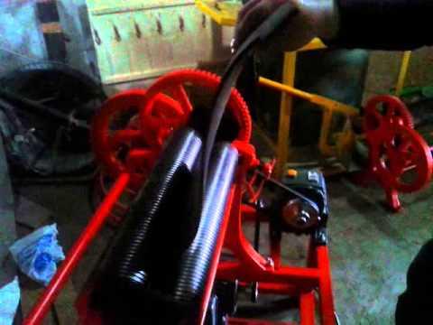 Mesin Hand Mangel Karet Batik