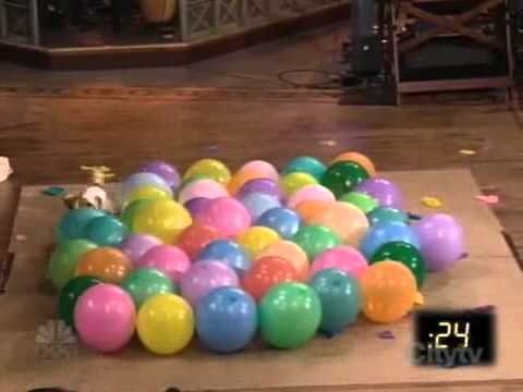 [Media Slap] Dog Attempts To Pop Balloons In Under 30 Seconds