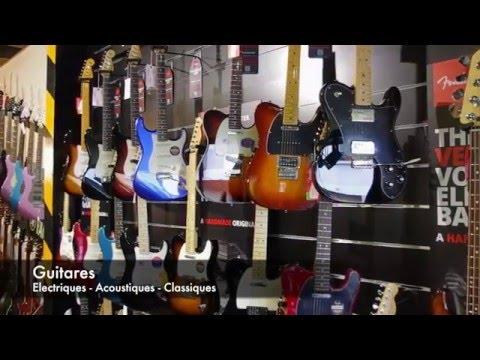 Le magasin Music Melody à Rouen