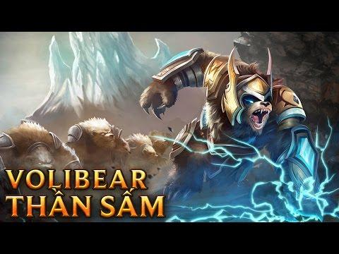 Volibear Thần Sấm - Thunder Lord Volibear - Skins lol