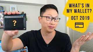 What's In My Wallet? Oct 2019   Ask Sebby