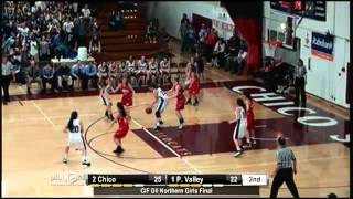 2013 CIF Northern Division II Girls Basketball Final- Pleasant Valley vs. Chico