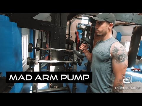 Big Arm Day With Ryan Welsh