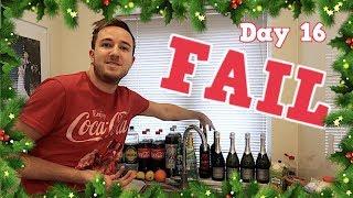 THE BIG CHRISTMAS FOOD SHOP FAIL!!   VLOGMAS DAY 16 - CHRIS & EVE