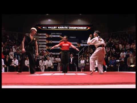 The Karate Kid best scene ever