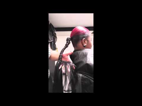 Invisible Ponytail Tutorial 25 Inch Long