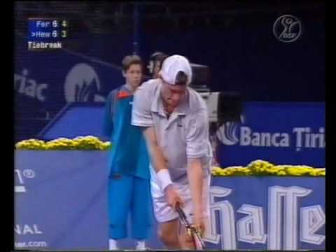 Lleyton Hewitt vs. Wayne Ferreira (Stuttgart 2001 - Quarterfinal)