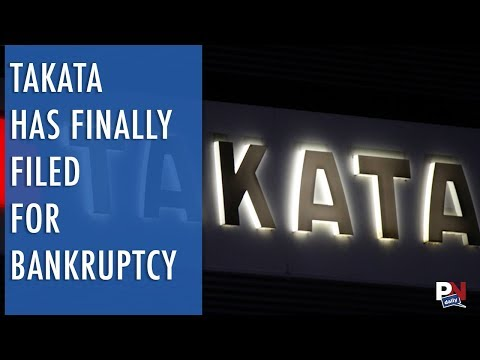 Takata Has Finally Filed For Bankruptcy Over Recall