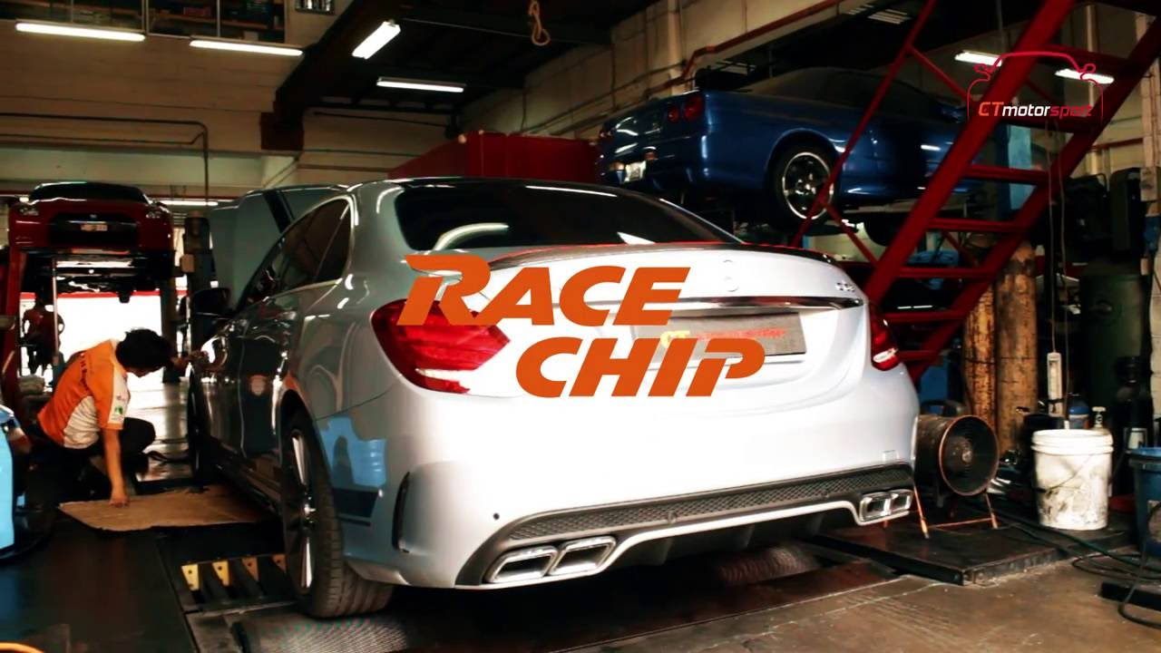 Mercedes-Benz W205 C-Class RaceChip Ultimate Installation with Dyno Test